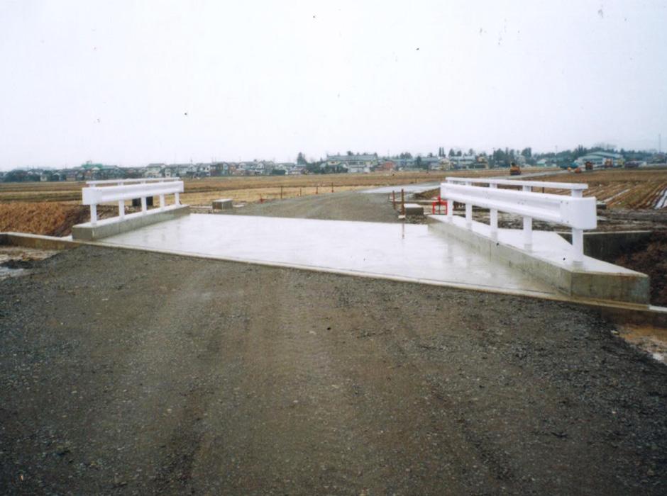 橋梁新設工事の写真